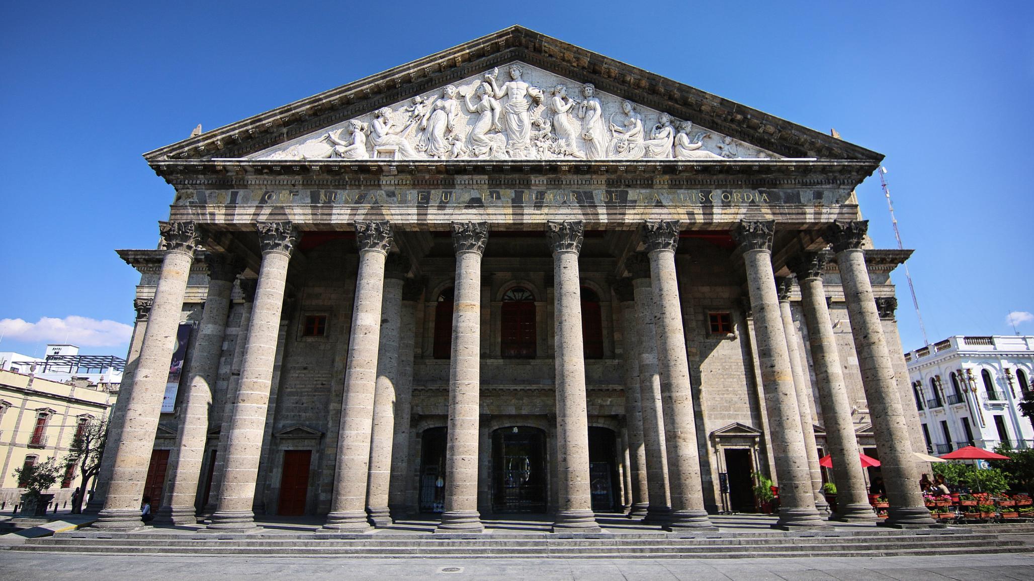Turismo en Guadalajara Teatro Degollado